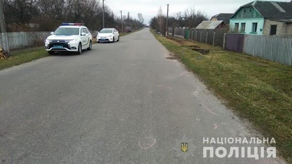 На Житомирщине полицейский сбил человека и покинул место ДТП0
