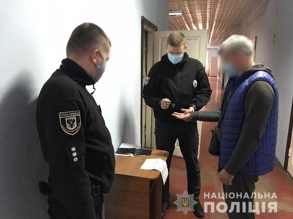 Человек, укравший бланки всеукраинского опроса