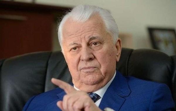 Глава украинской делегации в Трехсторонней контактной группе Леонид Кравчук