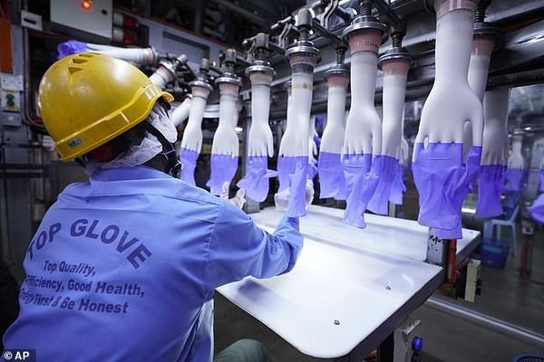Top Glove временно приостановил производство на 28 заводах за пределами Куала-Лумпура