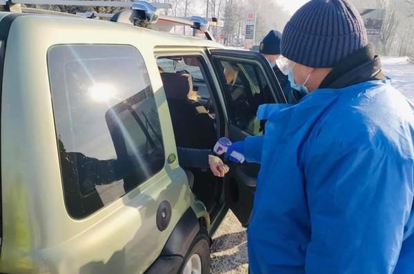 На Прикарпатье установили 16 карантинных блокпостов0