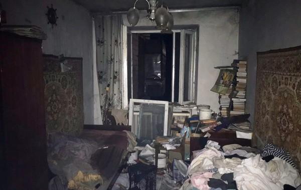 При пожаре в многоэтажке в Житомире погиб человек0