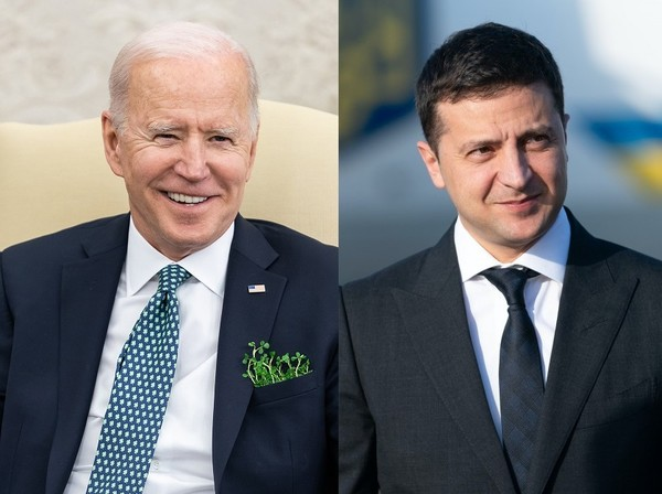Зеленский и Байден поговорили по телефону, - СМИ0