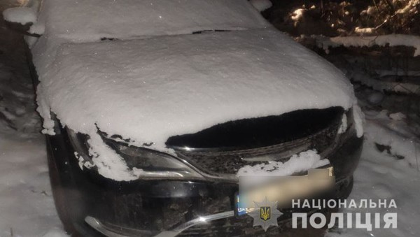 Автомобиль убитого мужчины