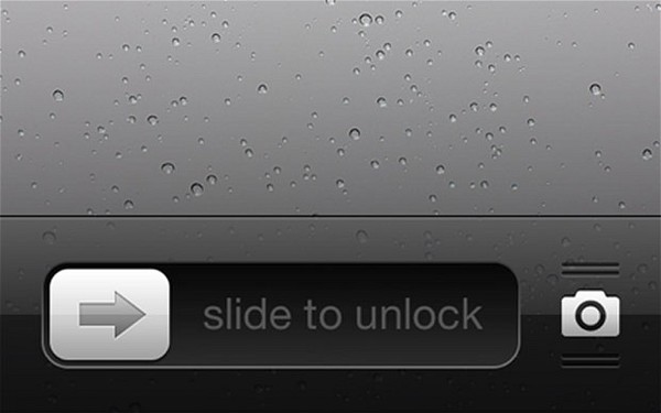 Apple slide-to-unlock