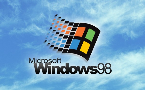 Лого Windows 98