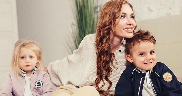 """""""Самые инстаграмные дети"""": Каминская записала забавное видео с сыном и дочерью"""