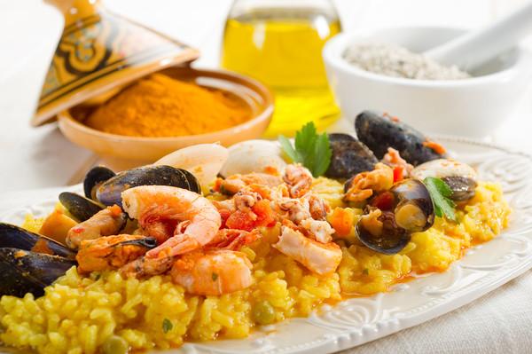 Паэлья - кулинарный символ Испании