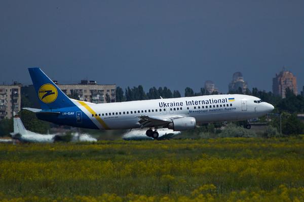 Украинская авиакомпания имеет огромные долги