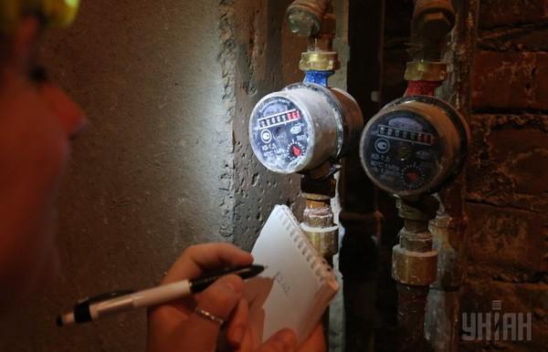 В Киеве ввели новый способ передачи показаний за потребленную воду