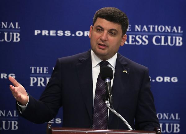 Гройсман анонсировал решение по блокаде Донбасса