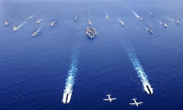 Когда Трамп заявил об отправке кораблей, они еще двигались в сторону Австралии