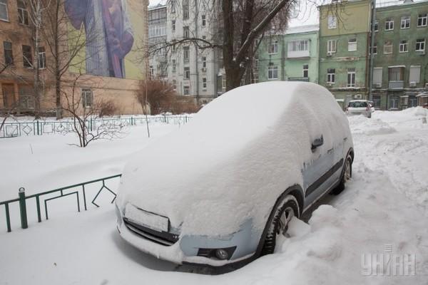 Кличко дал задание до вторника, 10 января, расчистить Киев от снега