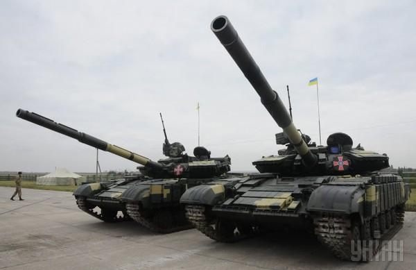 Танк Т-64 прошел капитальный ремонт