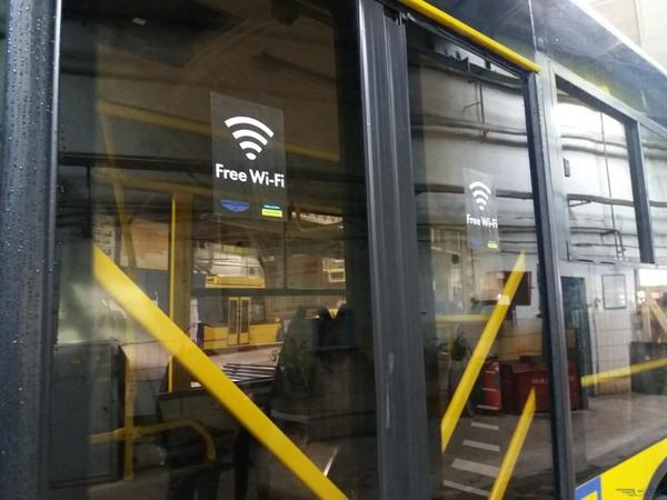 В киевские троллейбусы пришел Wi-Fi
