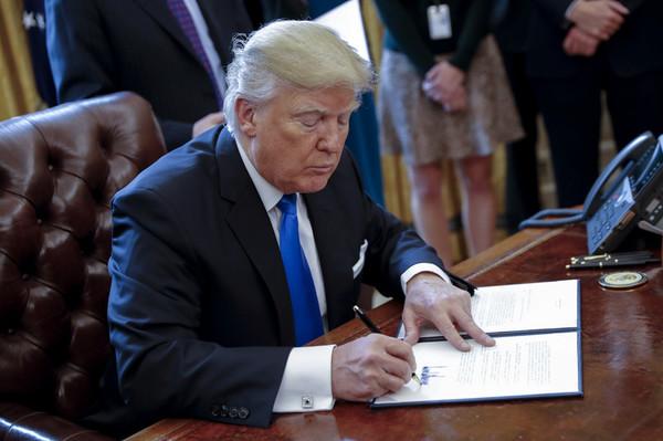 Image result for трамп подписал указ