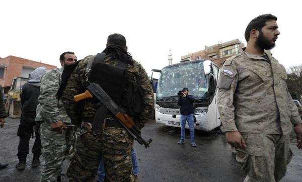 Правительственные войска Сирии заявили об освобождении Дамаска