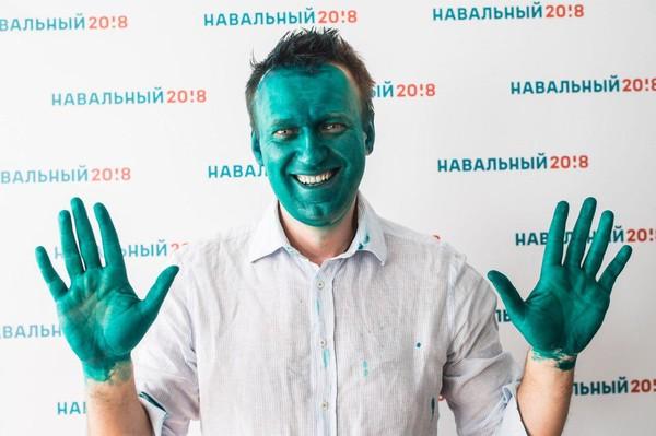 Зеленка планы Навального провести митинг не поменяла