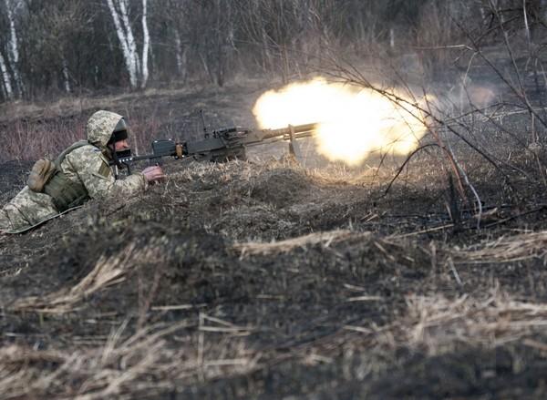 В результате боев погиб один украинский военный
