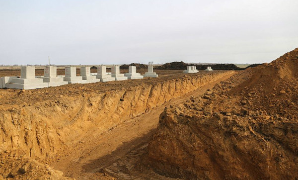 На полигоне Широкий Лан началось строительство бригадного лагеря за 370 миллионов
