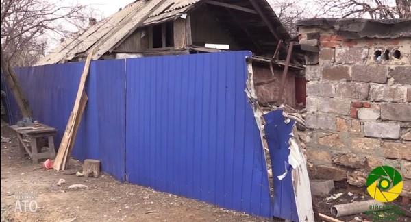 Боевики не прекращают обстреливать жилые районы Авдеевки