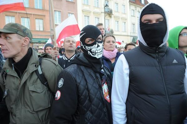 Поляки протестовали против трудовой миграции украинцев