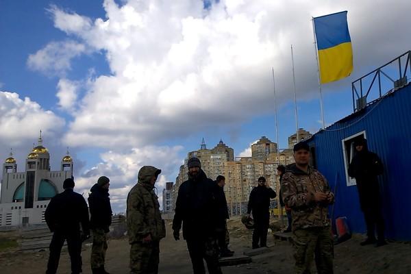 Незаконная стройка в Киеве