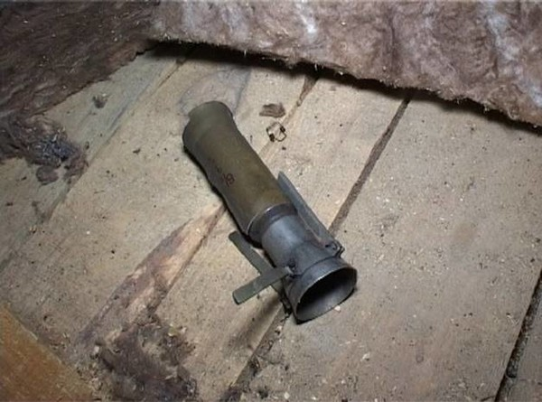 В Киеве неизвестный обстрелял дом из гранатомета