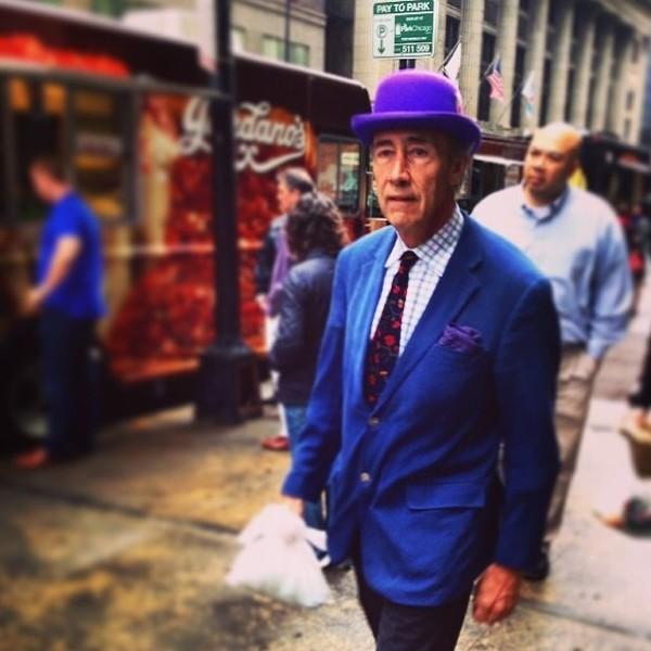 Стильные пенсионеры: Insragram-фото пожилых модников