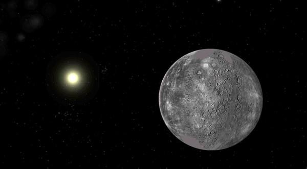 Меркурий - самая близкая к Солнцу планета