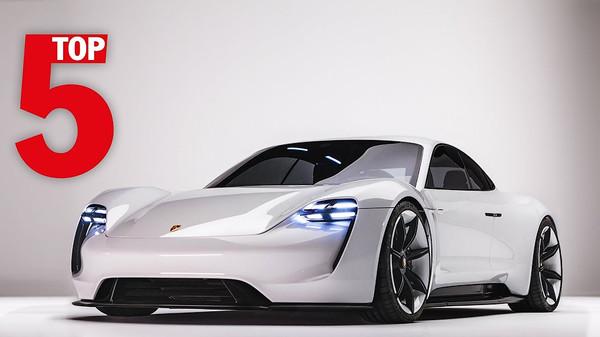 Porsche назвала свои лучшие автомобили