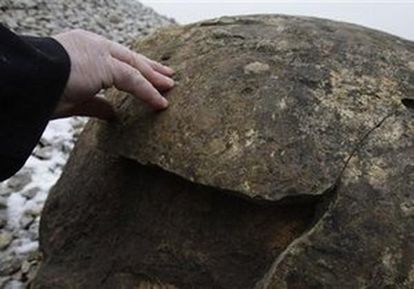 Редкий метеорит использовался в быту