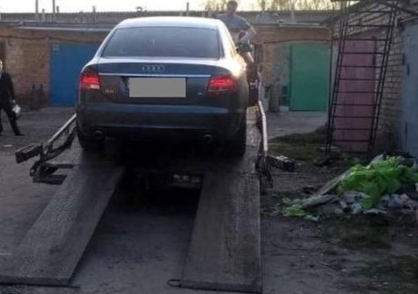 Audi пропавшего львовянина