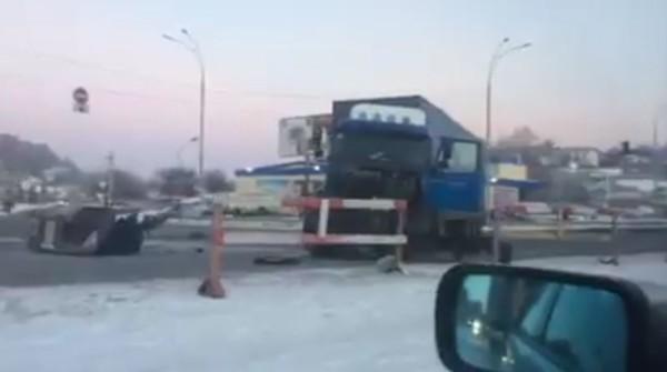 Смертельная авария на Новообуховской трассе