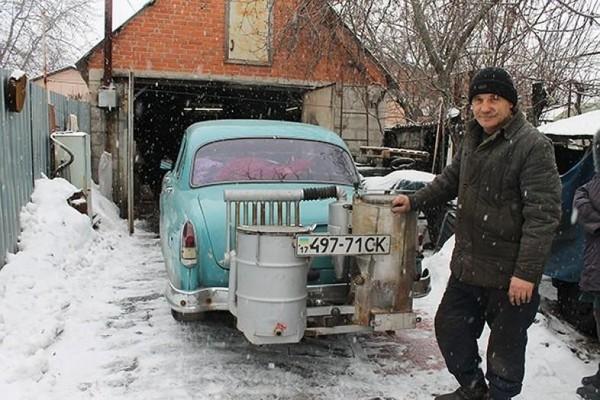 Василий проехал на твердом топливе более 10 тыс км