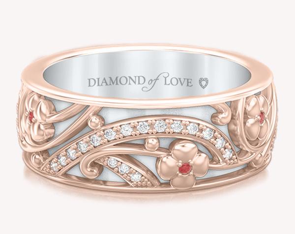 "Diamond of love: скажи ""Люблю!"" подарком"