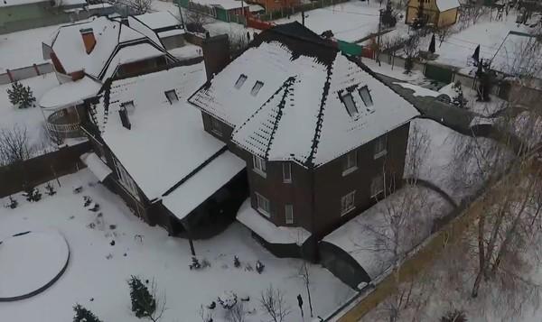 Дом сына судьи Маринчак