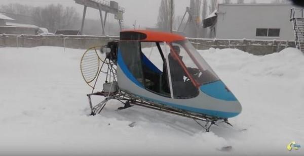 Полтавский изобретатель придумал новый вид транспорта