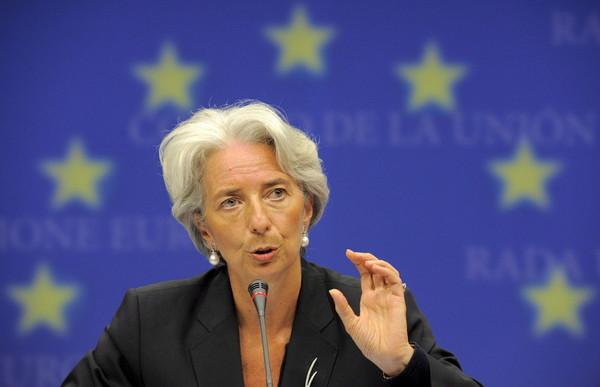 Кристин Лагард - директор-распорядитель Международного валютного фонда