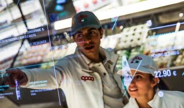 Супермаркет сделали полностью инновационным