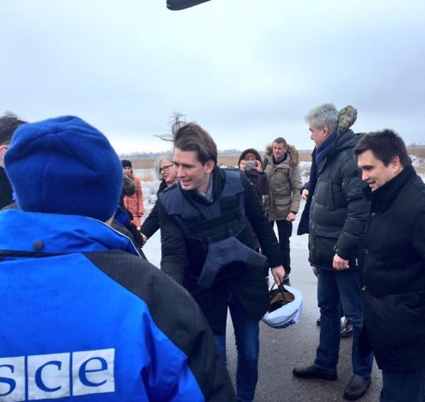 Новый глава ОБСЕ посетил Донбасс