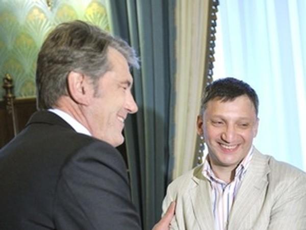 Ющенко поздравил Слюсарчука с мировым рекордом по запоминанию сверхбольшого объема информации