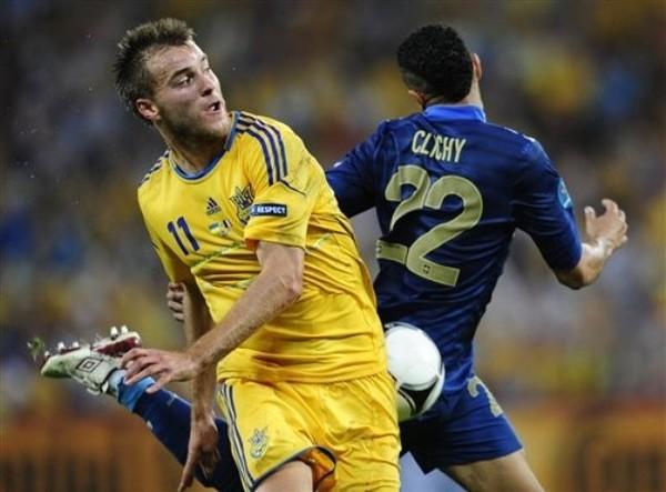 Матч Украина-Франция онлайн трансляция Евро-2012