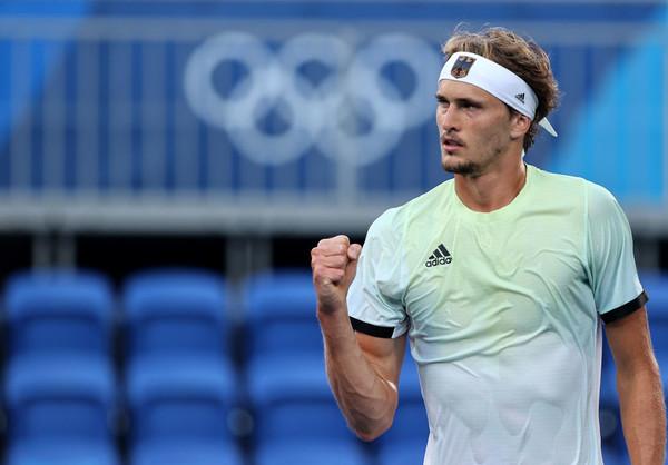 Зверев cтал первым немецким олимпийским чемпионом по теннису - СПОРТ  bigmir)net