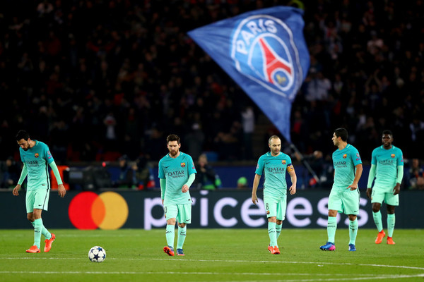 Барселона проиграла ПСЖ