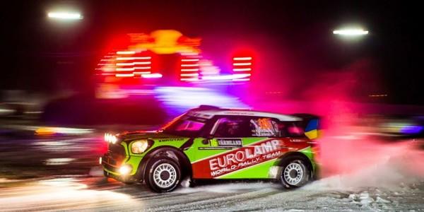 Eurolamp WRT на Rally Sweden 2017: первый финиш нового экипажа