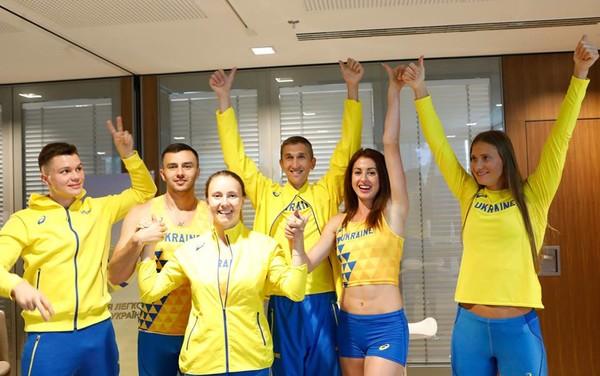 1587a8e3cc3b Украинских легкоатлетов будет одевать японский производитель формы ...