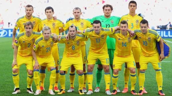 Сборная Украины сыграет в желтой форме