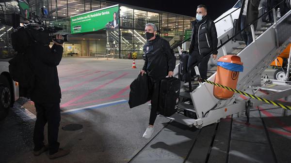 Шахтер прибыл в Германию