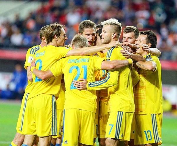 Как проводят время футболисты сборной Украины